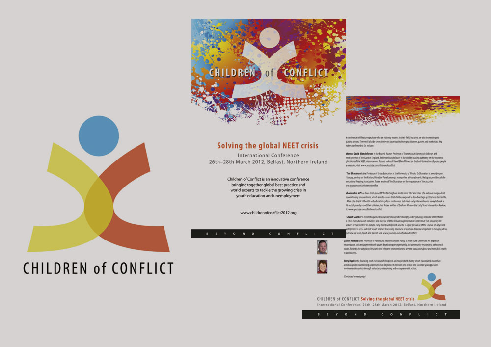 Children of Conflict conference marketing material