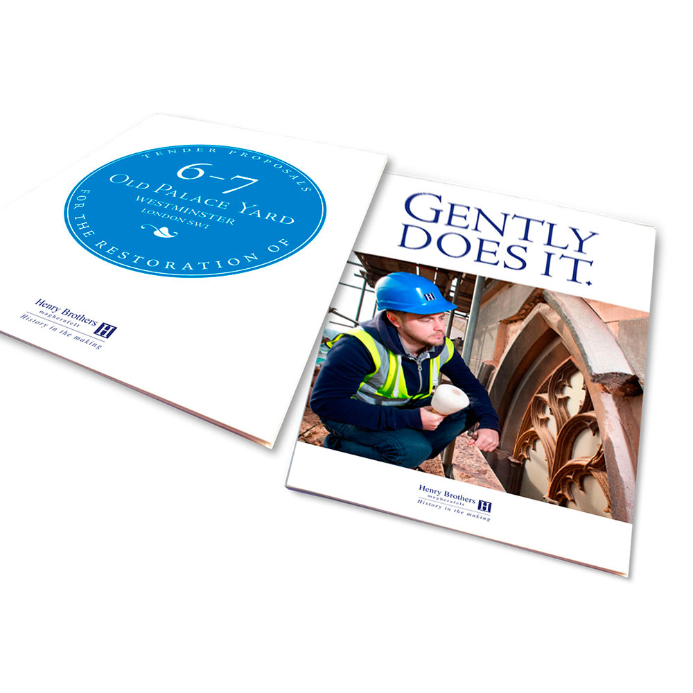 Henry Brothers Construction Tender Brochure