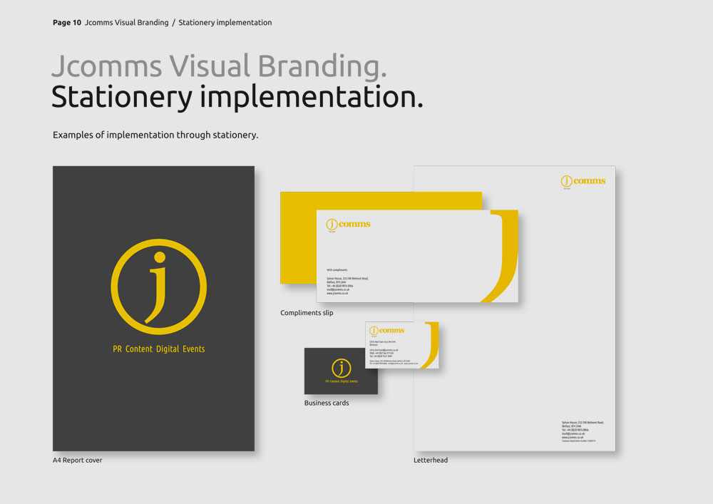 JComms Branding Guidelines