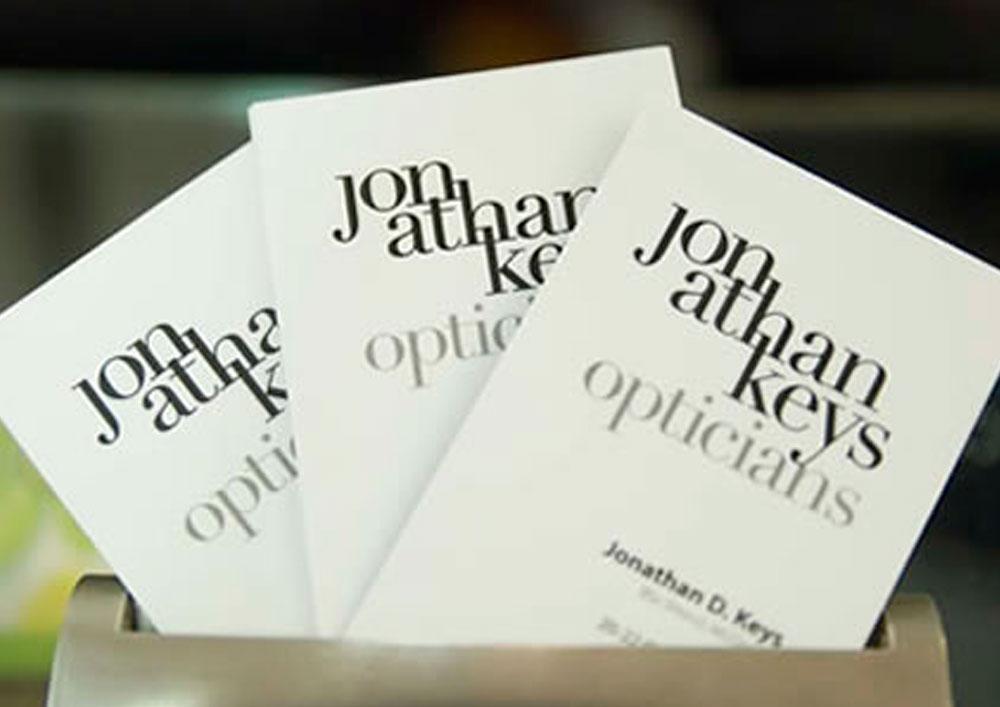 Jonathan Keys stationery