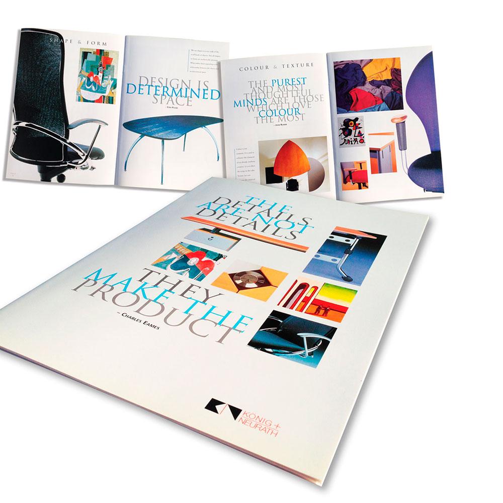 König & Neurath Furniture Product Brochure