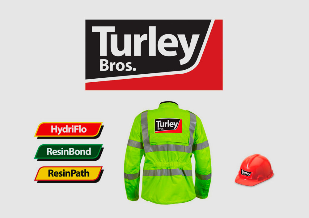 Turley Corporate and Product branding