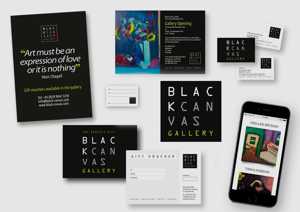 Black Canvas marketing material