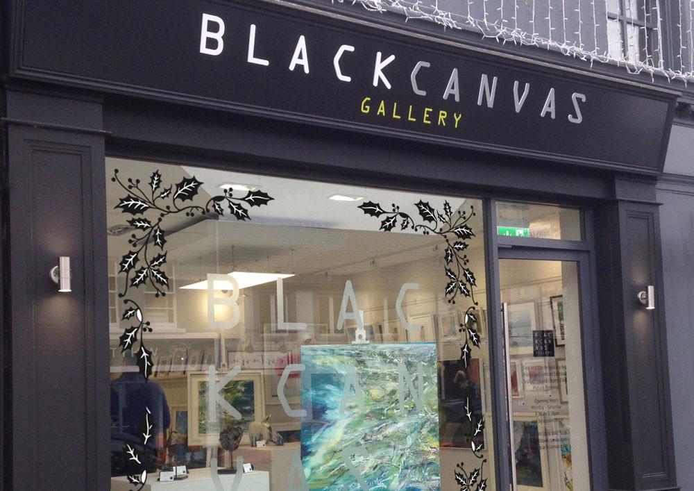 Black Canvas Gallery façade