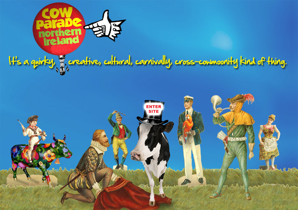 Cow Parade holding page