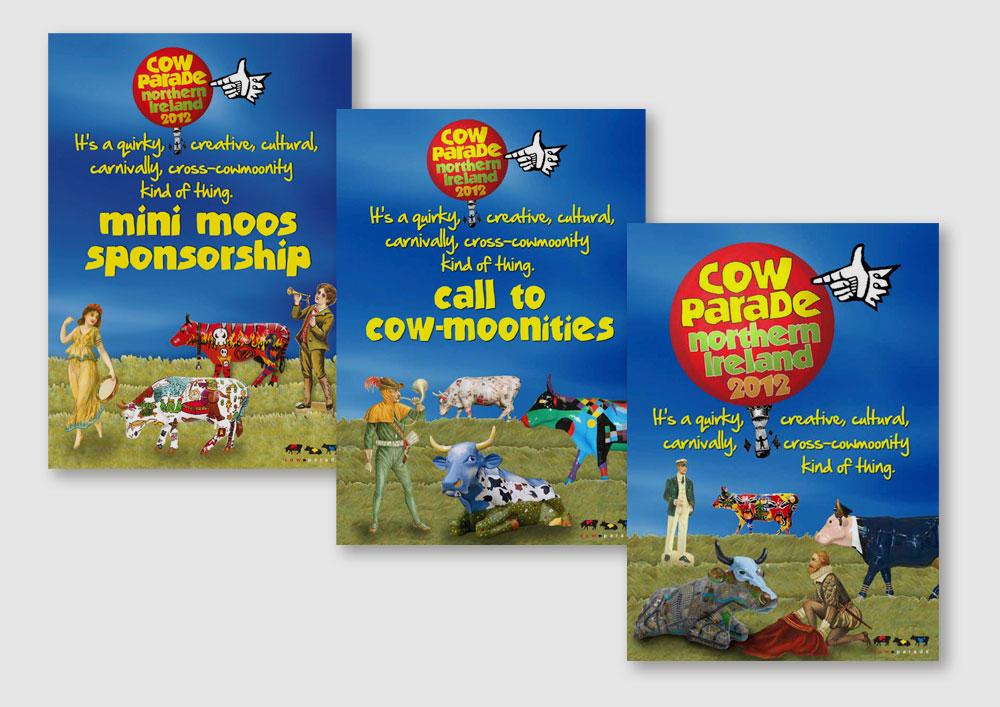 Cow Parade brochures