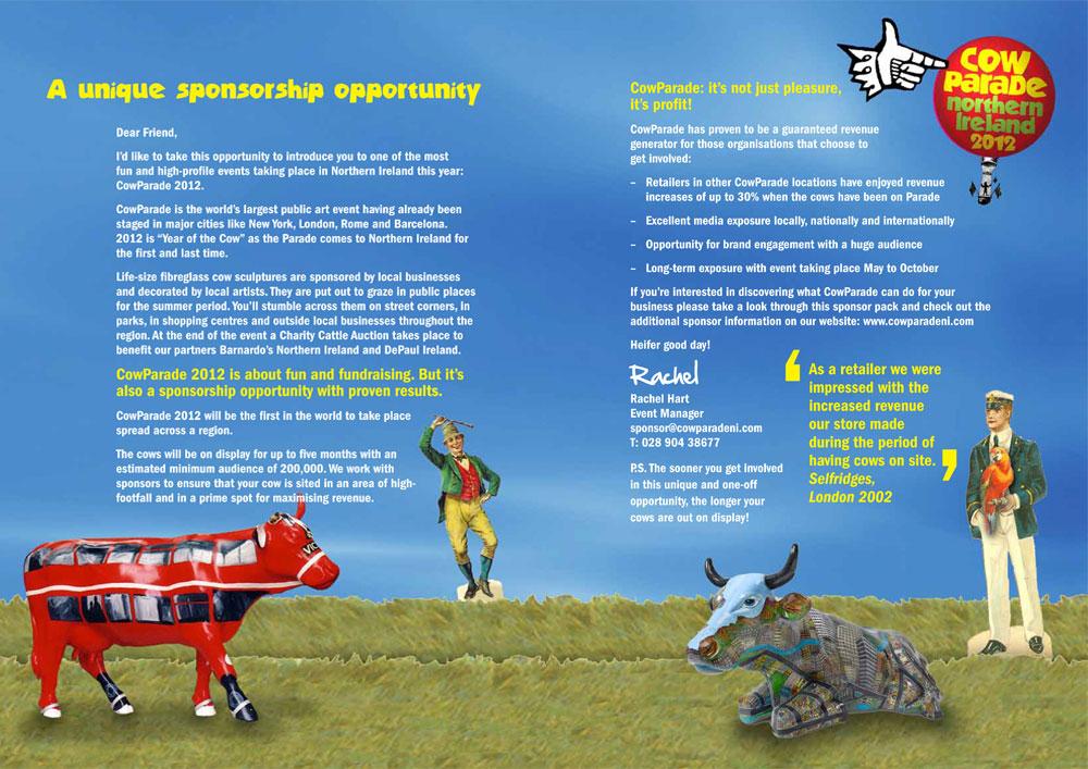 Cow Parade brochure