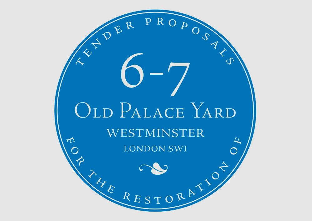 Old Palace Yard tender logo