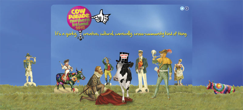 CowParade home page