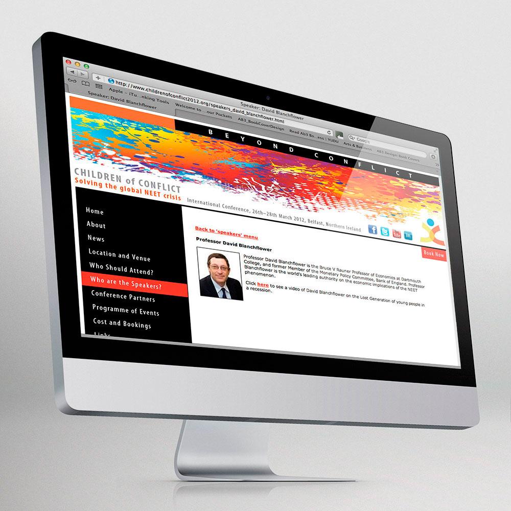 Children of Conflict website