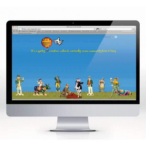 Cow Parade website