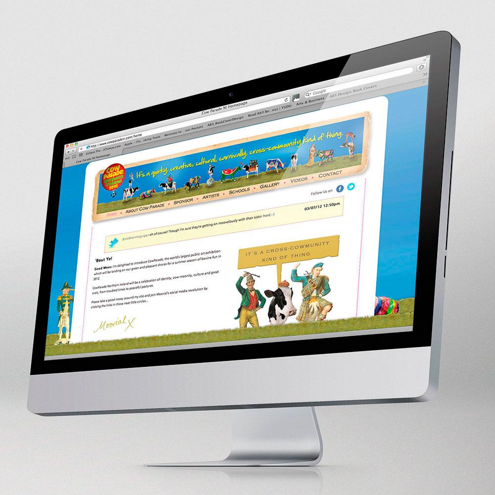 Cow Parade website
