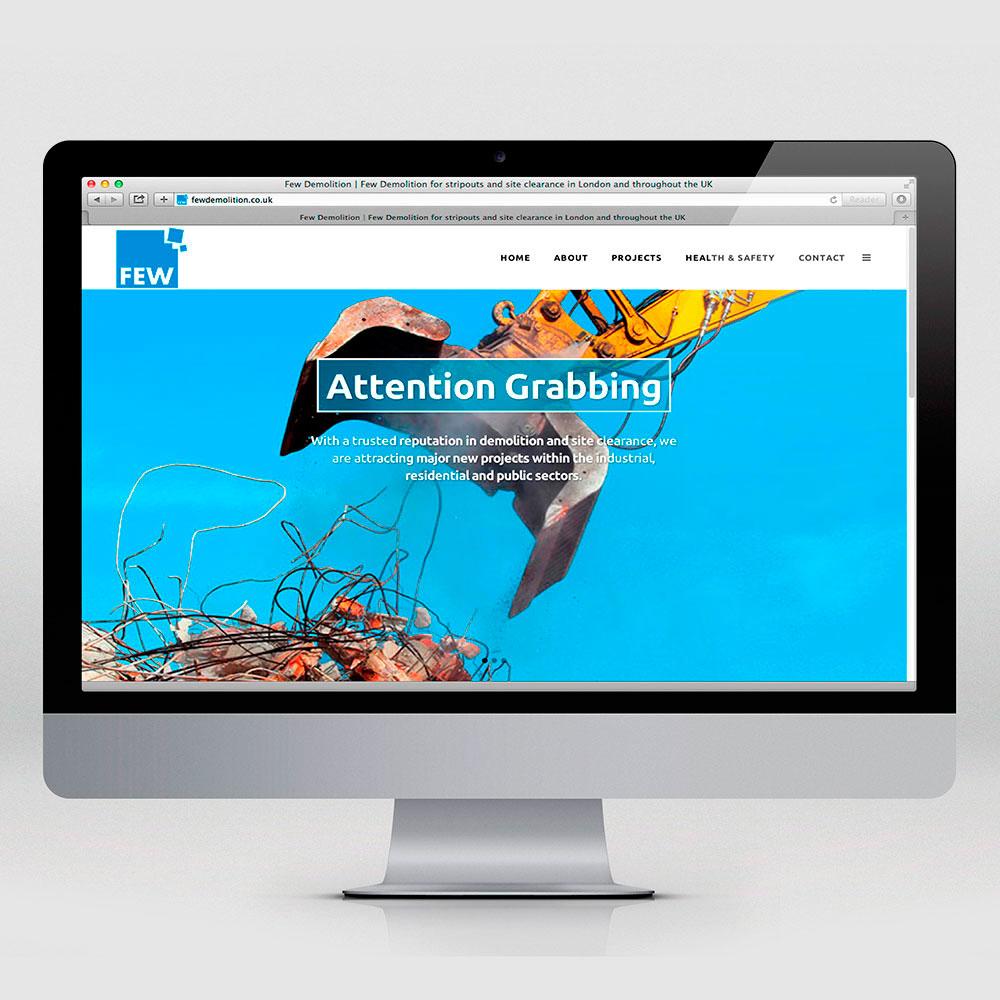 Few Demolition website