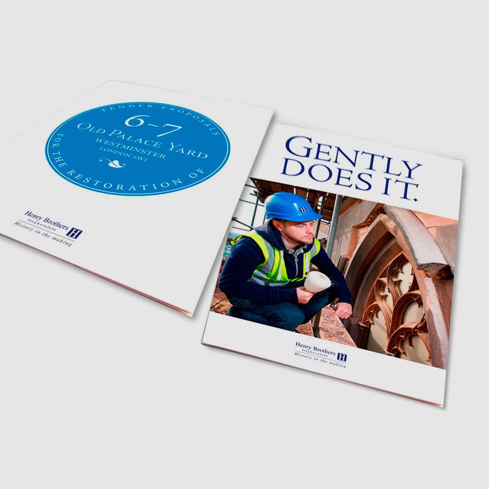 Henry Brothers tender brochure