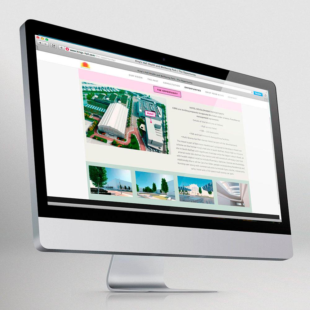 King's Hall website