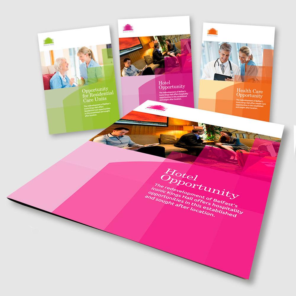 King's Hall brochures