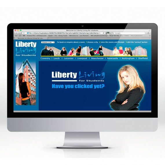 Liberty Living website