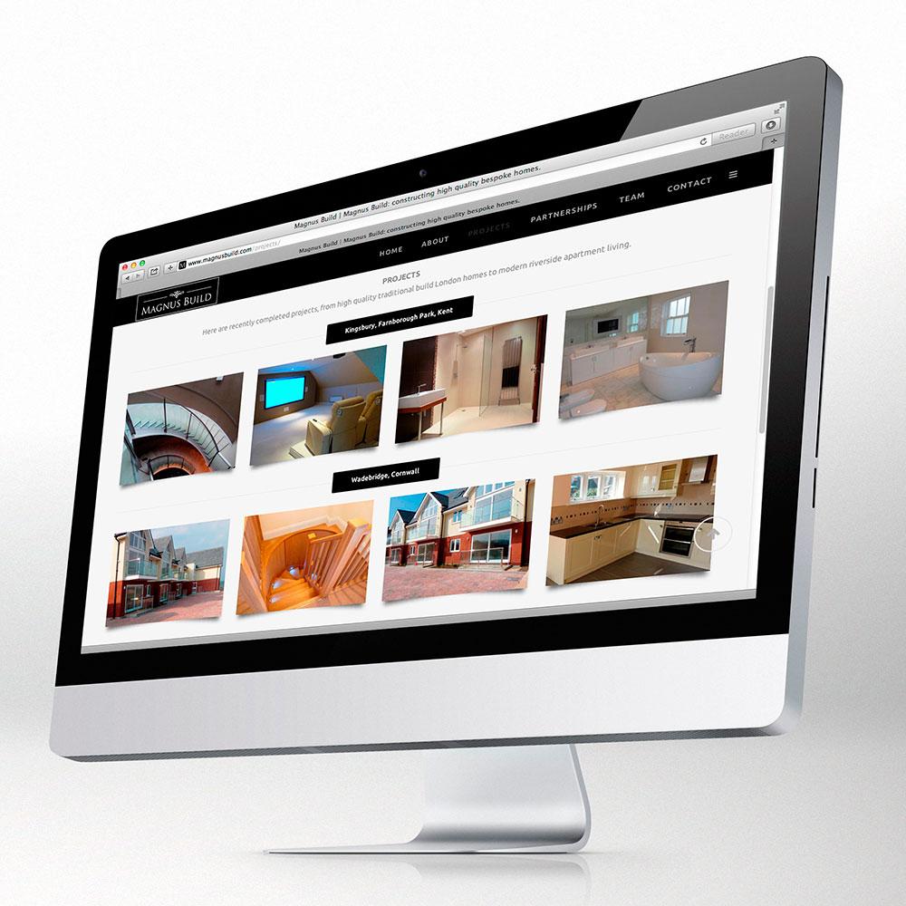 Magnus Build website