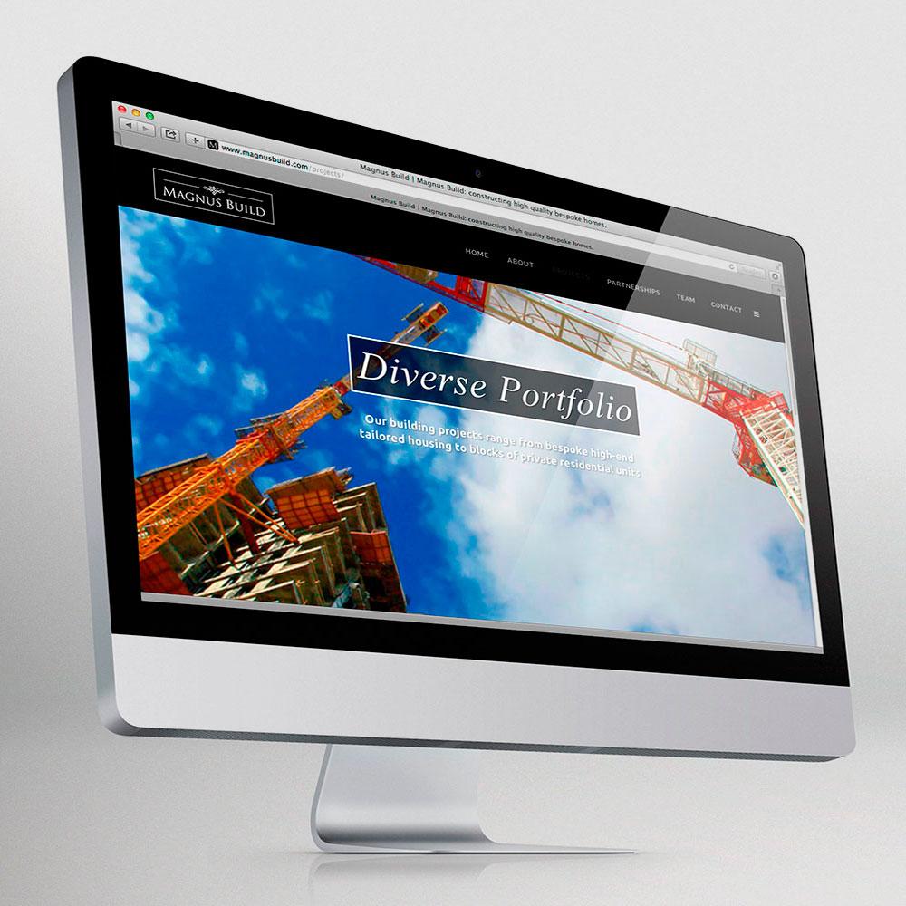 Magnus Build websites