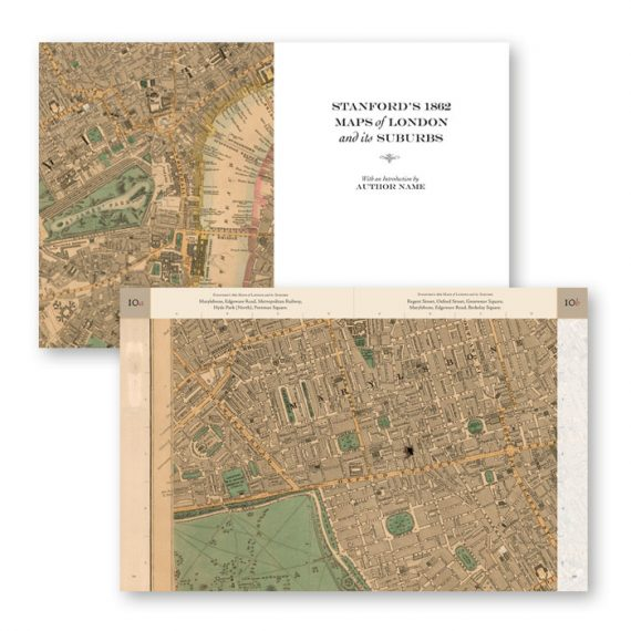 Stanford's 1862 London Maps