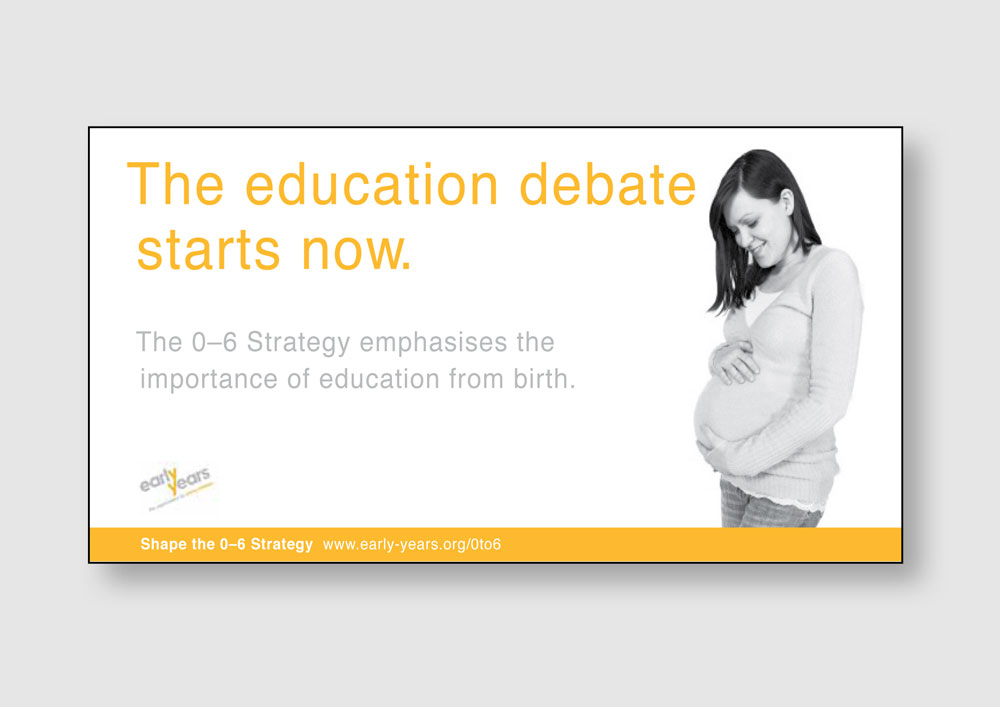 Early Years poster campaign